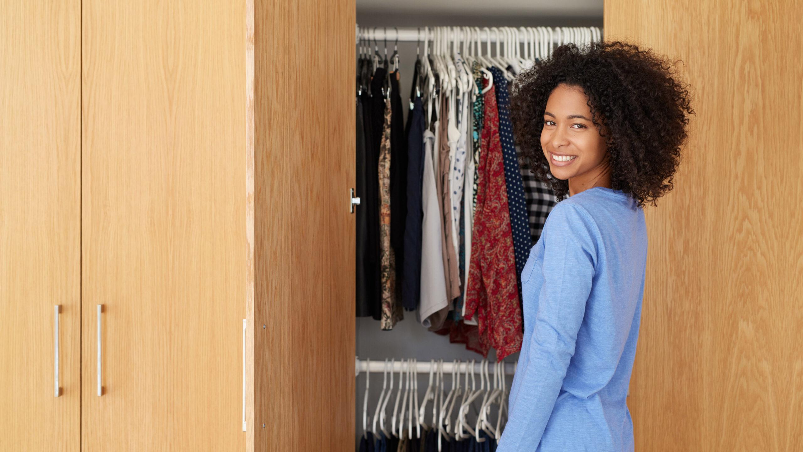 No Closet? No Problem—Try an Armoire