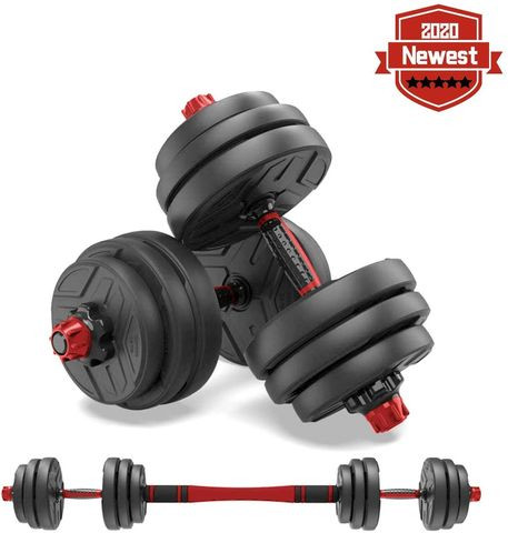 Adjustable dumbbells