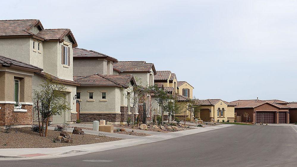 Housing development in Phoenix, Arizona