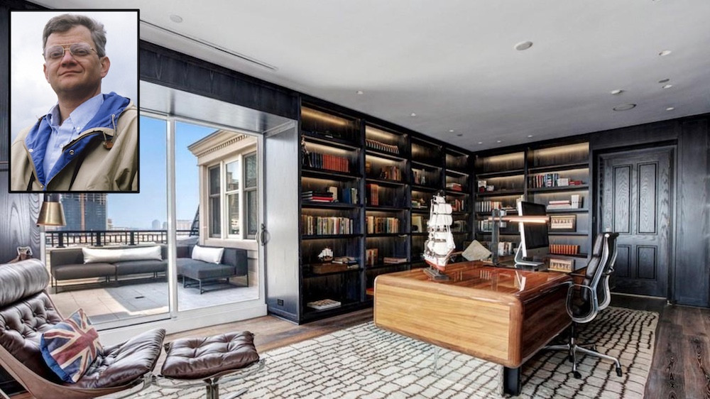 Tom Clancy Baltimore penthouse