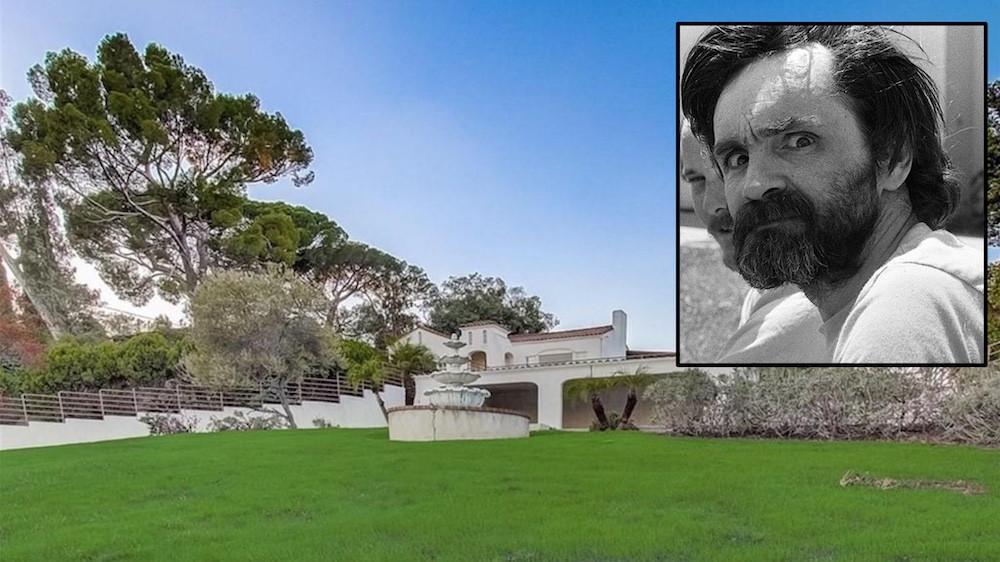 Manson Murder house for sale